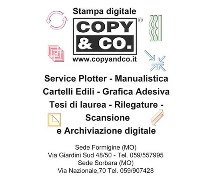 Copy & co. Stampa digitale