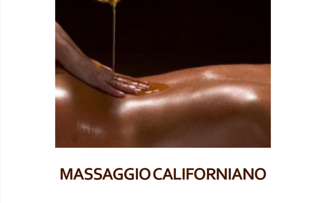Massaggio Californiano
