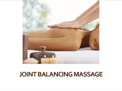 Joint Balancing Massage
